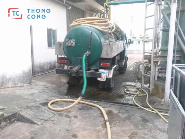 Dịch vụ rút hầm cầu quận Tân Phú giá rẻ uy tín