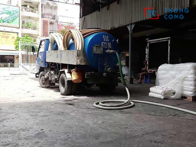 Công ty Minh Trâm - Đơn vị rút hầm cầu chuyên nghiệp quận 8