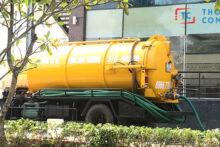 Dịch vụ rút hầm cầu chuyên nghiệp tại công ty Minh Trâm