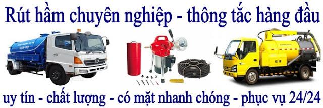 Rút hầm cầu giá rẻ tại công ty Minh Trâm
