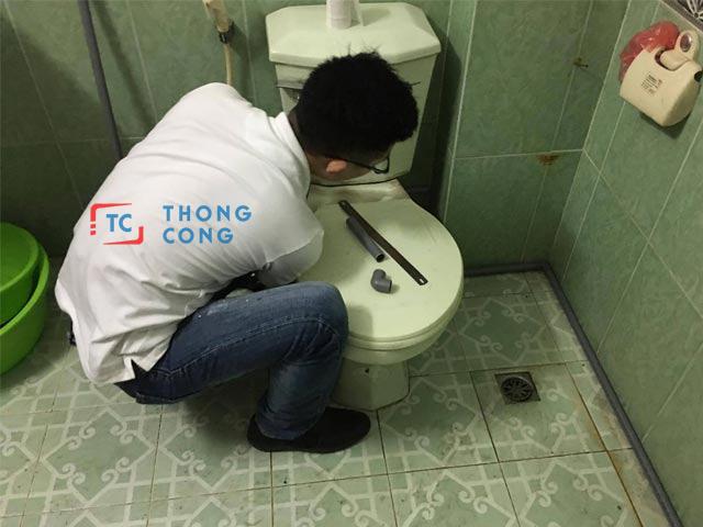 Thông bồn cầu quận Tân Bình uy tín, giá rẻ