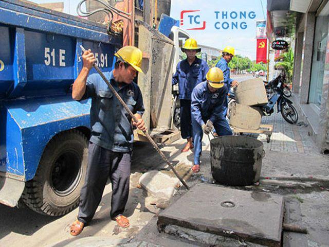 Dịch vụ thông cống nghẹt Quận Bình Tân đảm bảo uy tín, chất lượng cho khách hàng
