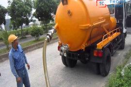 Dịch vụ rút hầm cầu quận Bình Tân của Minh Trâm